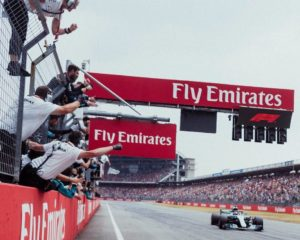 Germania: Hamilton da 14° a 1°, Bottas e Kimi a podio. Vettel out
