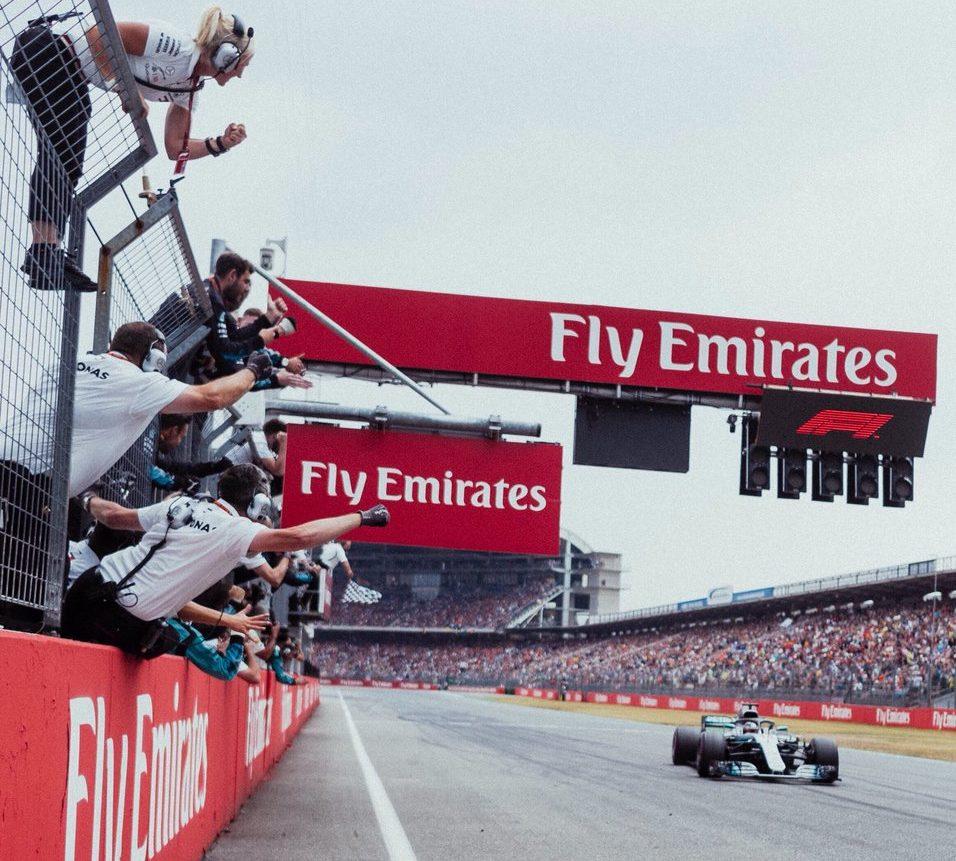 Germania: Hamilton da 14° a 1°, Bottas e Kimi a podio. Vettel out