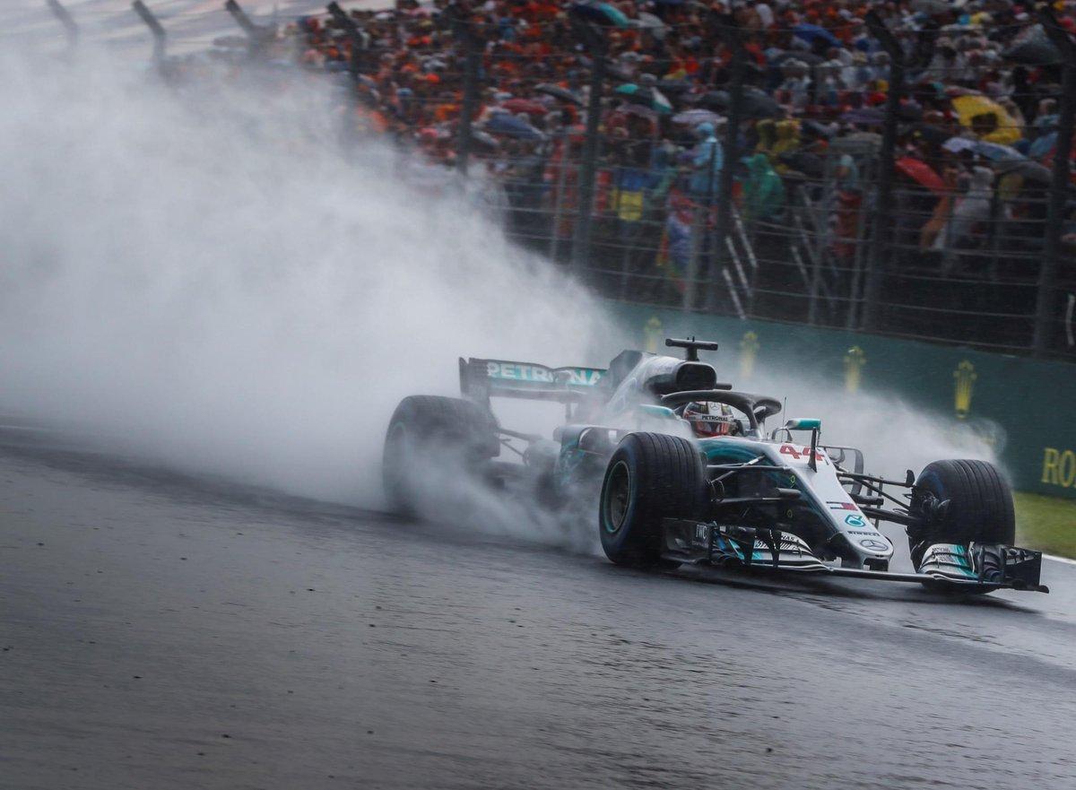 Ungheria: pole delle full wet, ma la gara sarà asciutta