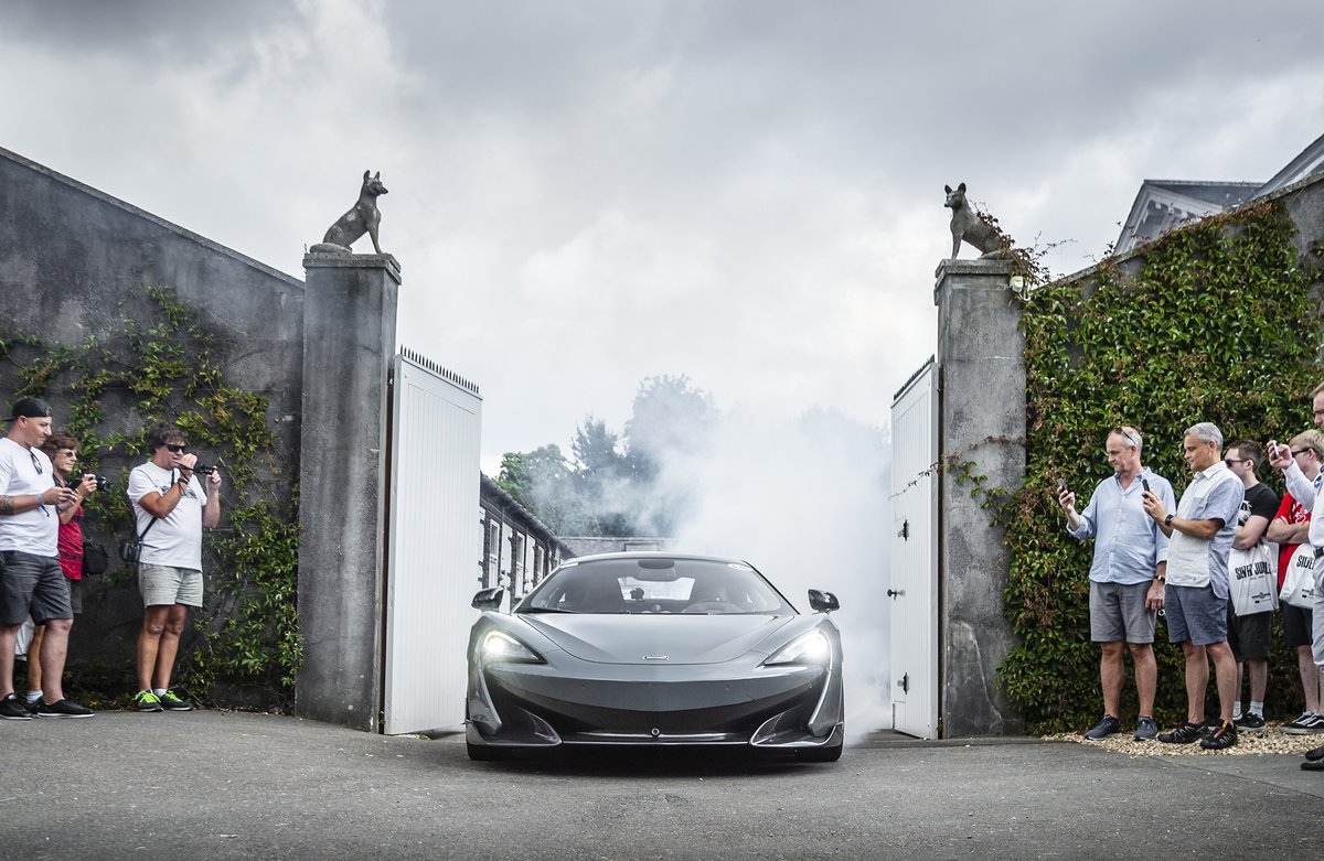 McLaren 600LT: debutto mondiale a Goodwood