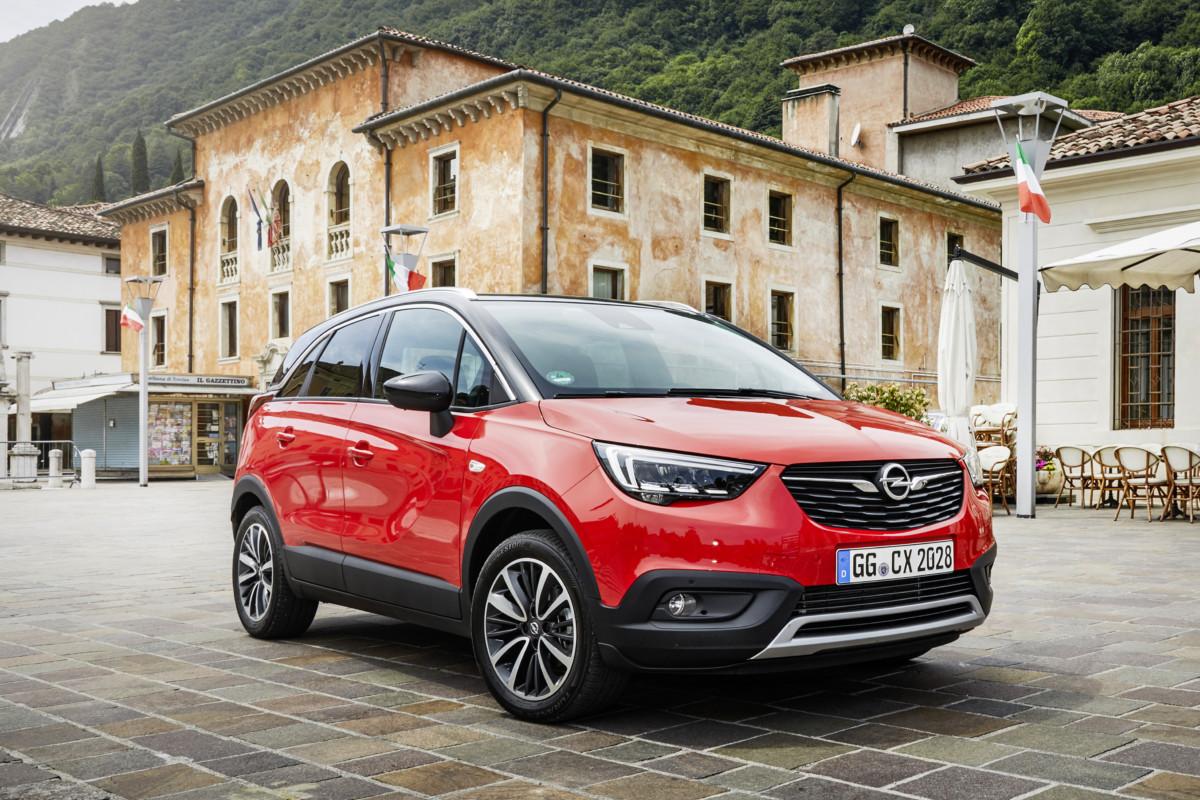 Opel Crossland X e Cucchiaio.it per un pic-nic trendy