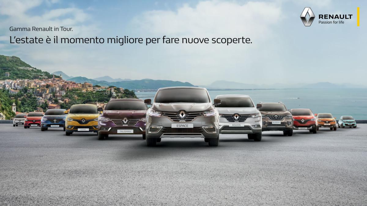 Parte il Renault Summer Tour 2018
