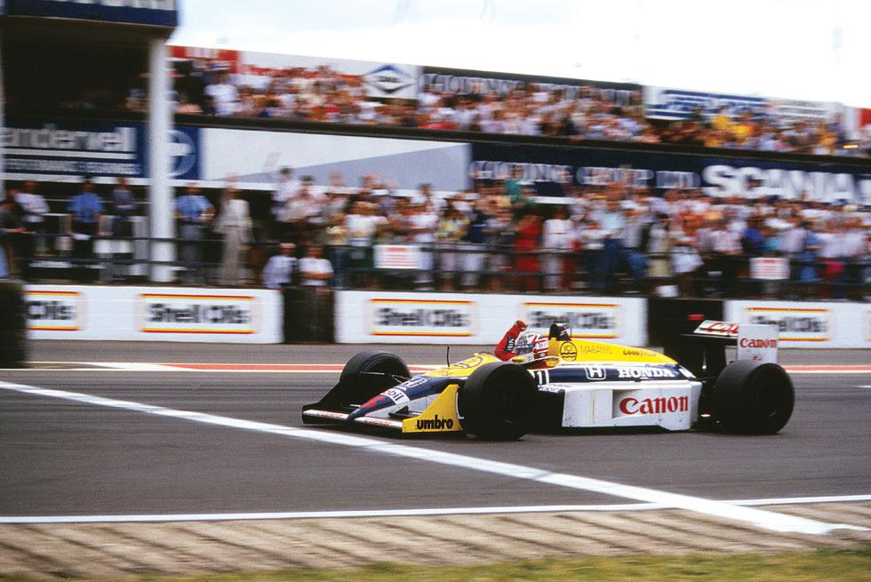 Silverstone 1987: Mansell e la matematica