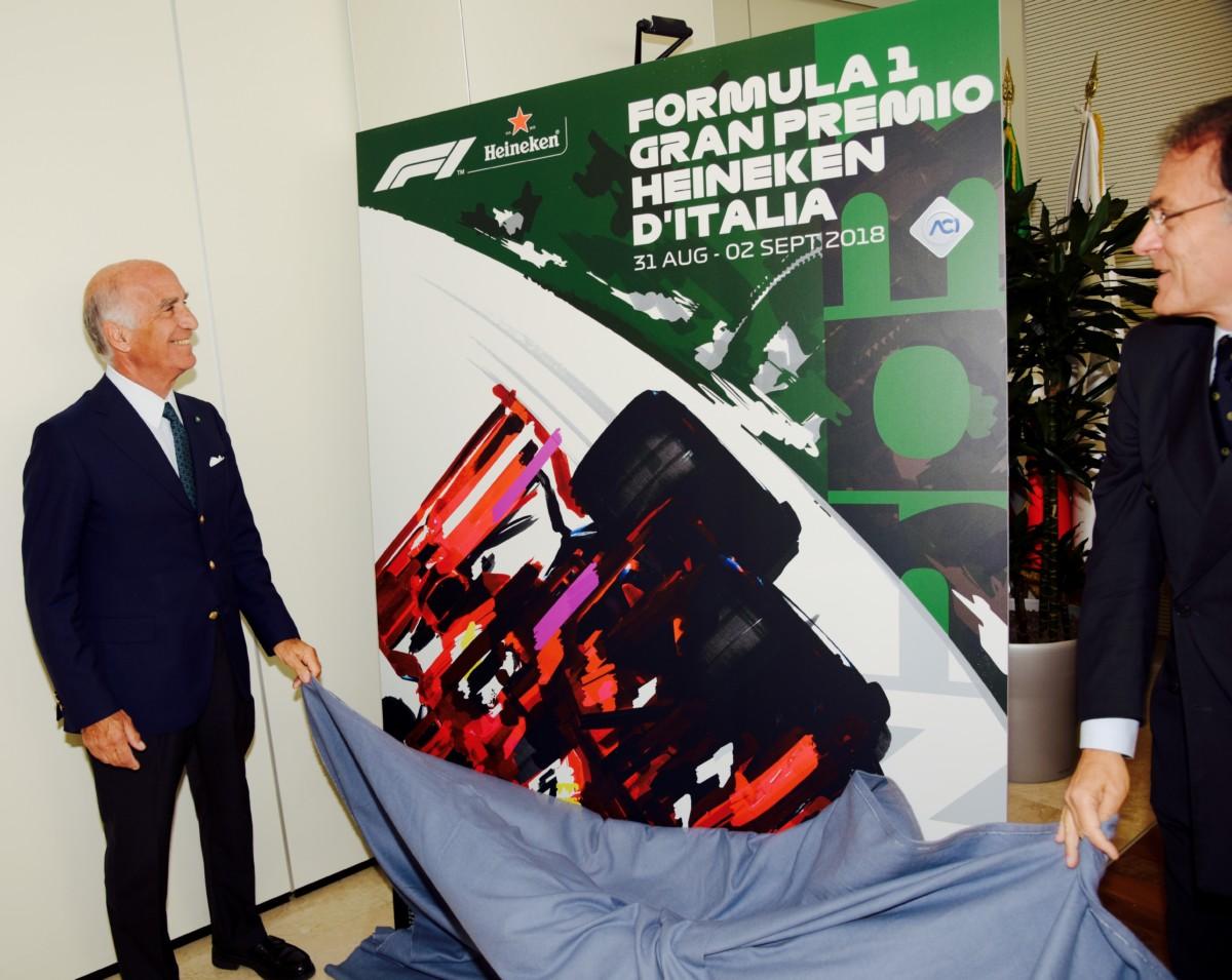 Presentato a Roma (sì, a Roma) il poster del GP d'Italia 2018
