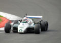 Pirro a Goodwood al volante della Williams 6 ruote