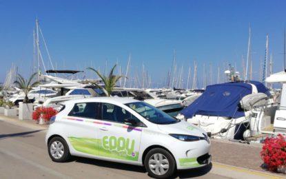 Eppy a Punta Ala con cinque Renault ZOE