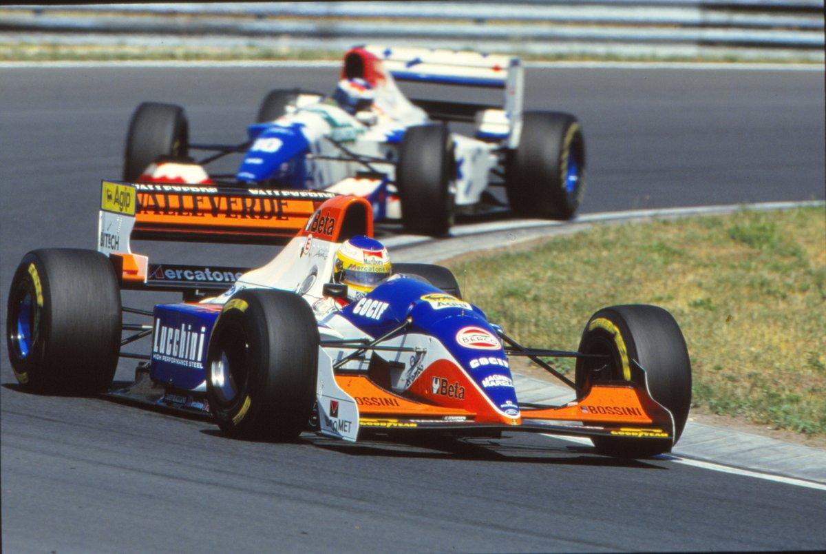 Ungheria 94: quando Alboreto arrivò 7° con la Minardi