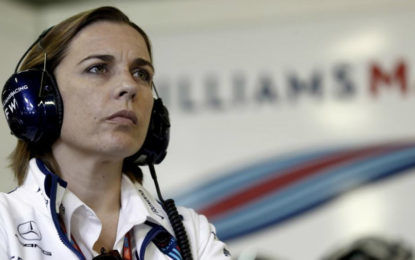 Claire Williams pronta a lasciare la F1. Se necessario