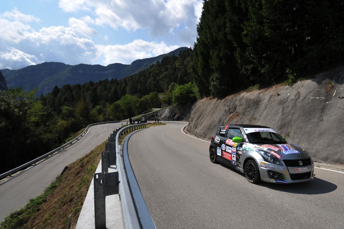Suzuki Rally Trophy: sfida al Rally di Roma Capitale