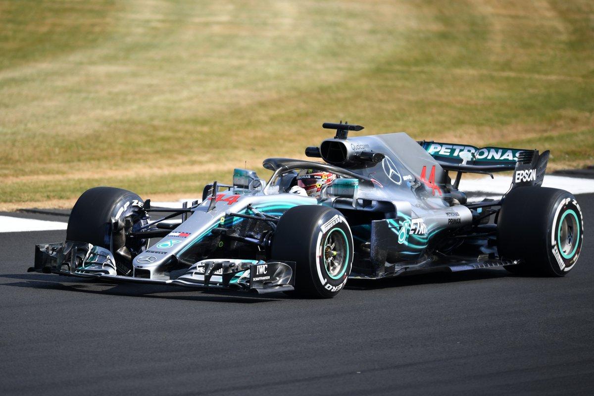Silverstone: Hamilton, Bottas e Vettel nelle FP1