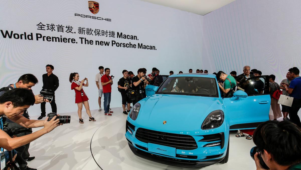 Nuova Porsche Macan: anteprima mondiale a Shanghai