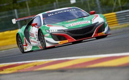 24 Ore di Spa: Riccardo Patrese e Loic Depailler con Honda NSX GT3