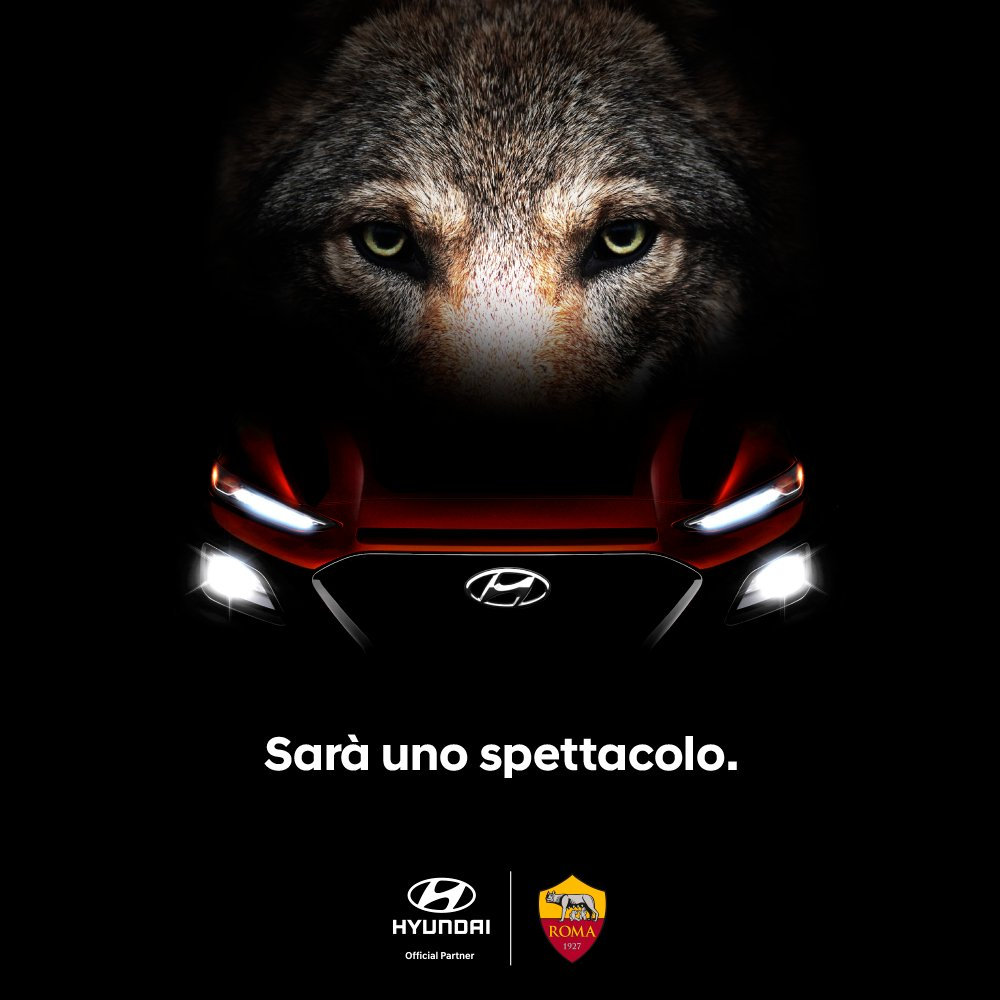 Hyundai nuovo Global Main Partner dell'AS Roma