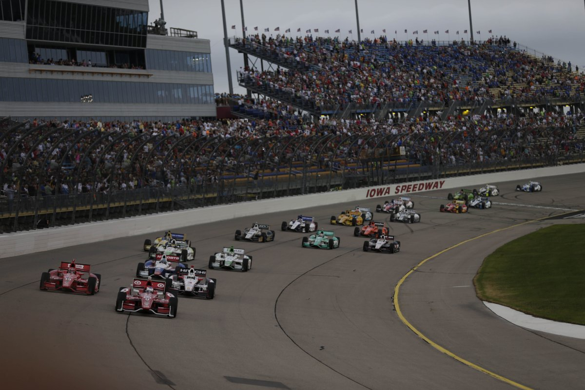 IndyCar: domenica su Sky l'Iowa Corn 300