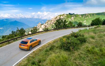 Partito il tour Audi Q8