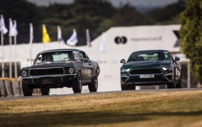 Ford Mustang star al Goodwood Festival of Speed