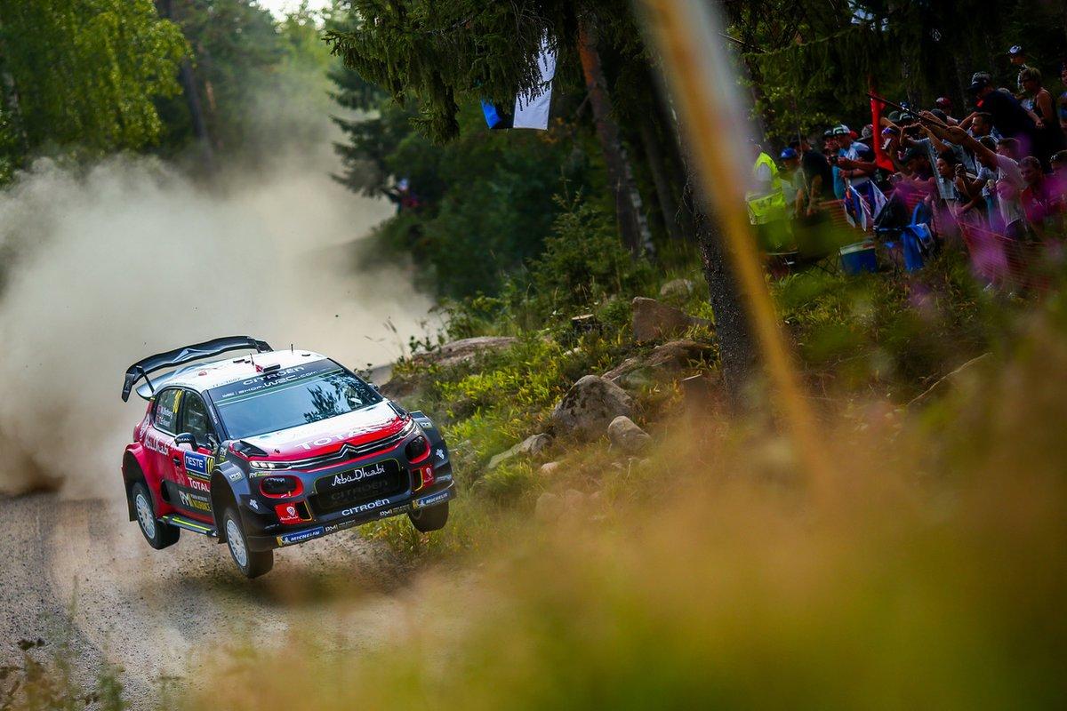 Finlandia: Østberg e C3 WRC mantengono la 2° posizione