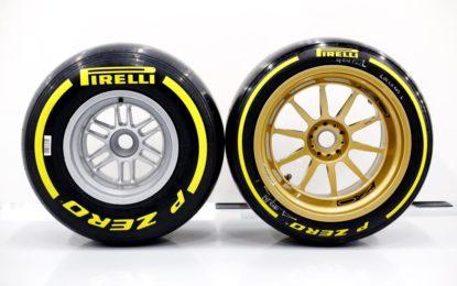 Per ora tre i team che proveranno i pneumatici Pirelli da 18″