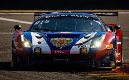 Seconda fila per la Ferrari di Rigon alla 24 Ore di Spa