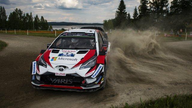 WRC: gran sabato per TOYOTA GAZOO Racing in Finlandia