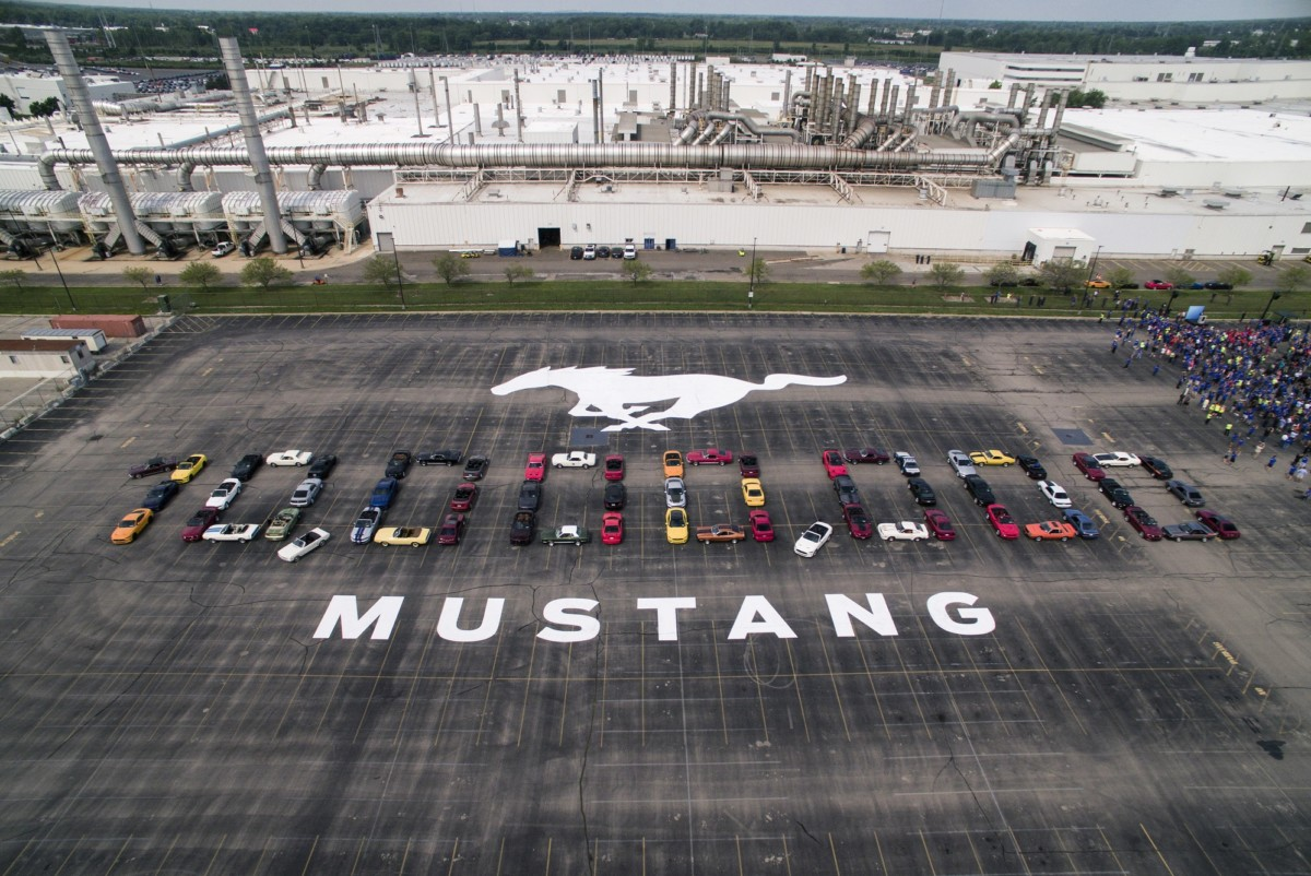 Ford Mustang a quota 10.000.000 di esemplari
