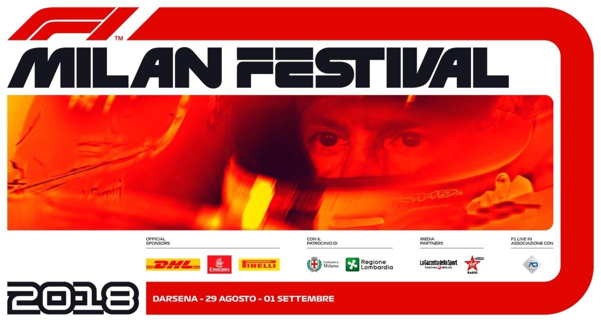 Oggi il Formula 1 Milan Festival, live anche su Sky