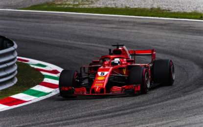 Ferrari prima e seconda nelle FP2 a Monza