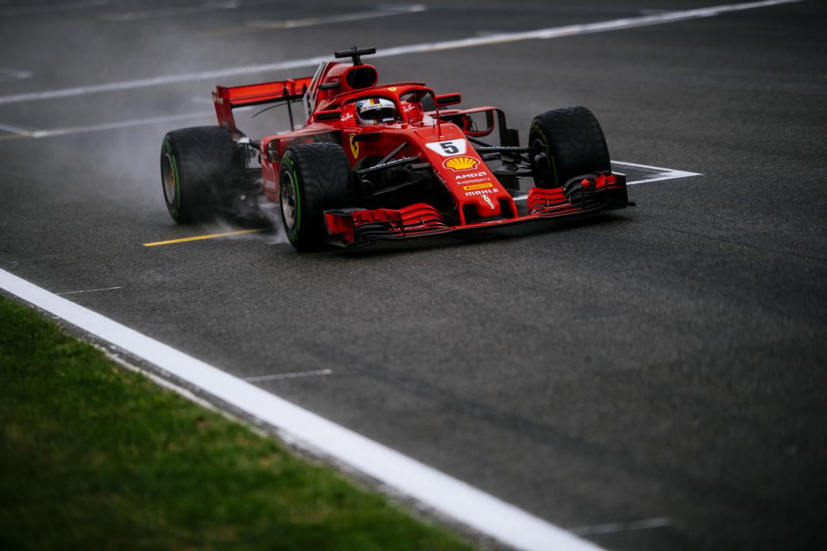 Il meteo influenza le qualifiche Ferrari a Spa