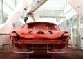 Ferrari prima Casa con la verniciatura a bassa temperatura