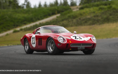 La Ferrari 250 GTO è un'opera d'arte, da sentenza del Tribunale