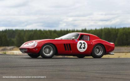 Una Ferrari 250 GTO batte ogni record