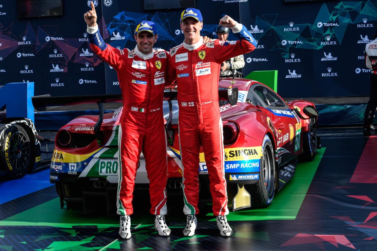 WEC: vittoria di Pier Guidi e Calado a Silverstone