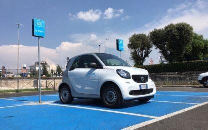 car2go atterra a Ciampino