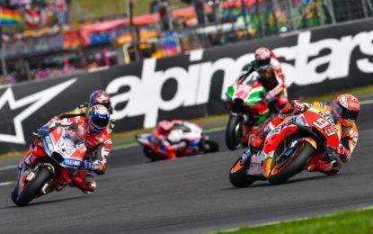 MotoGP Silverstone: l'impegno degli impianti frenanti