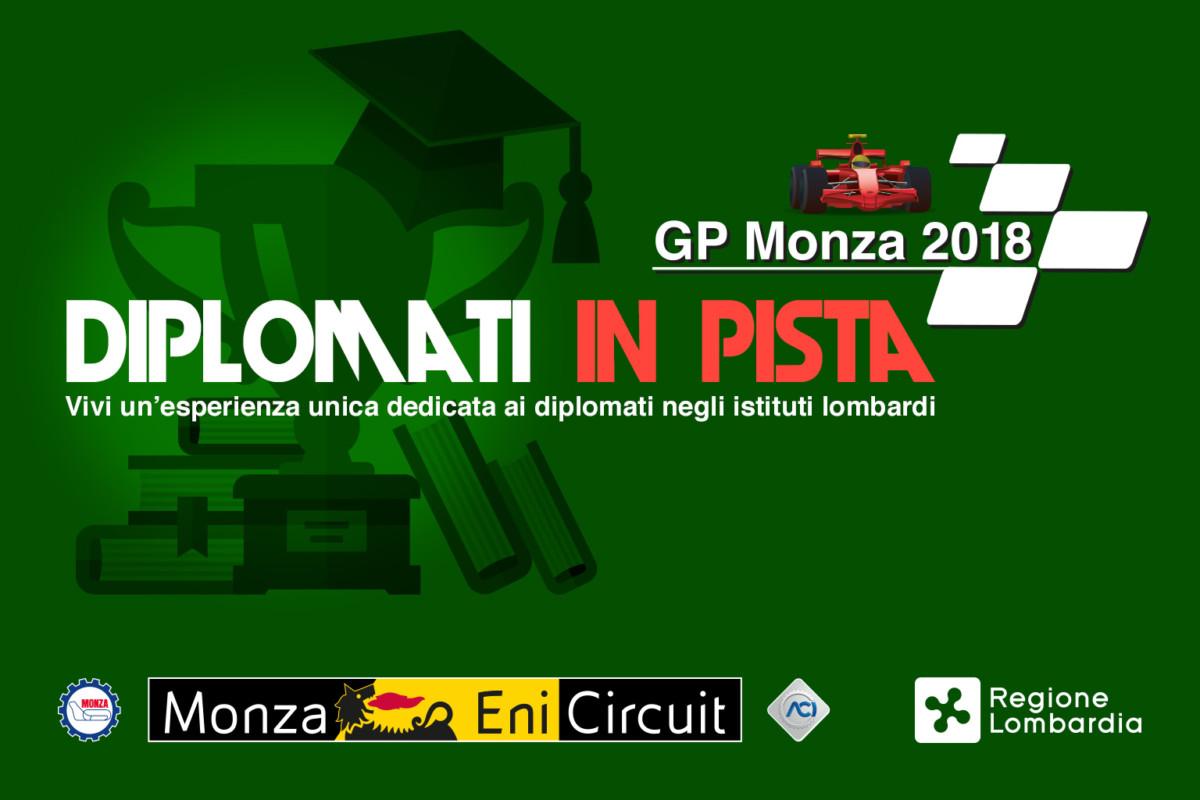 Diplomati in pista a Monza: c'è tempo fino a domani