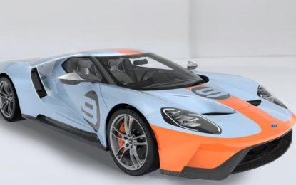 Livrea Gulf Oil per la nuova Ford GT Heritage Edition 2019