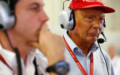 Lauda in gravi condizioni. Forza, Niki, non mollare!