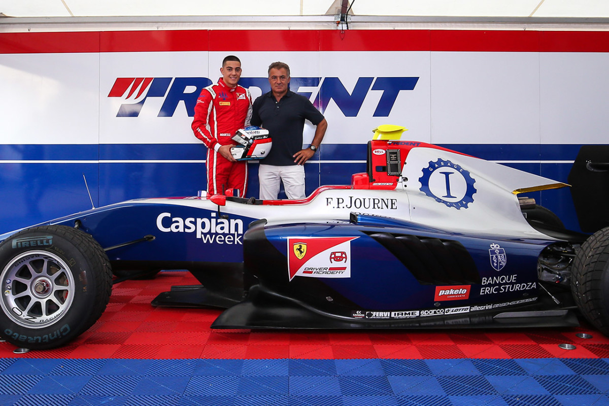 Garage Italia con Giuliano Alesi in GP3