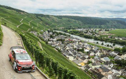 WRC: per Citroën ritorno all'asfalto con tre rally in uno