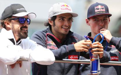 Sainz nega che Verstappen non l'abbia voluto