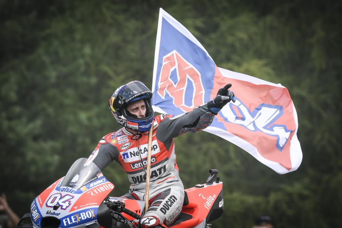 Brno: doppietta Ducati e Marquez, Rossi 4°