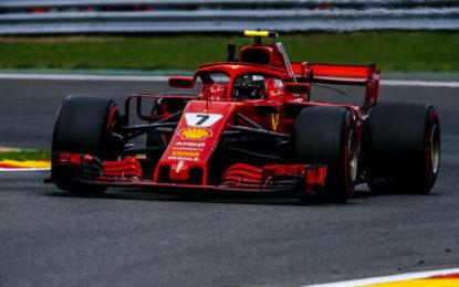 Belgio: Raikkonen e le due Mercedes nelle FP2