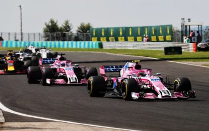 Belgio a rischio per la Force India