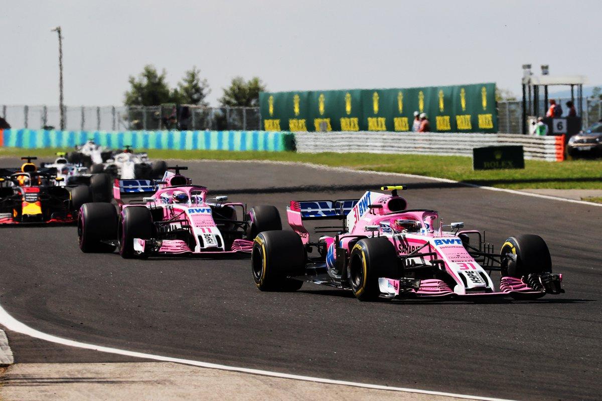 Belgio a rischio per la Force India