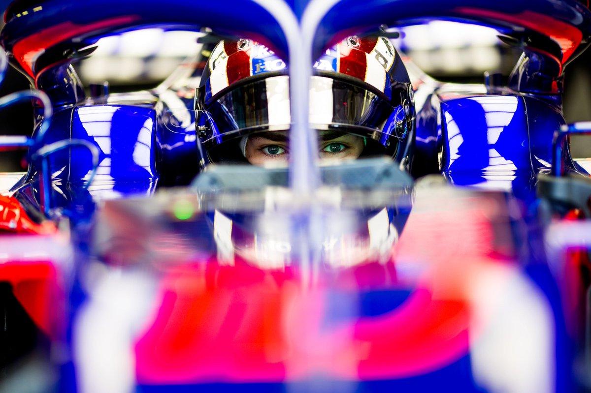 Gasly pronto a saltare sul sedile di Ricciardo