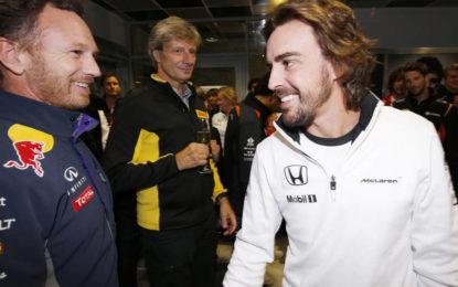 Horner chiude la porta ad Alonso? E lui ci ride su!