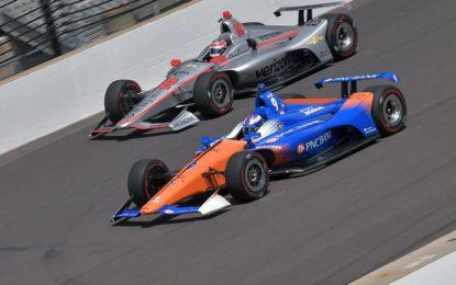 La IndyCar in scena al Pocono Raceway