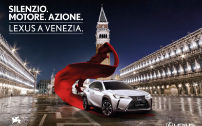 Lexus UX HYBRID alla Mostra del Cinema di Venezia