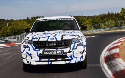 Nuovo ŠKODA KODIAQ RS da record al Nürburgring