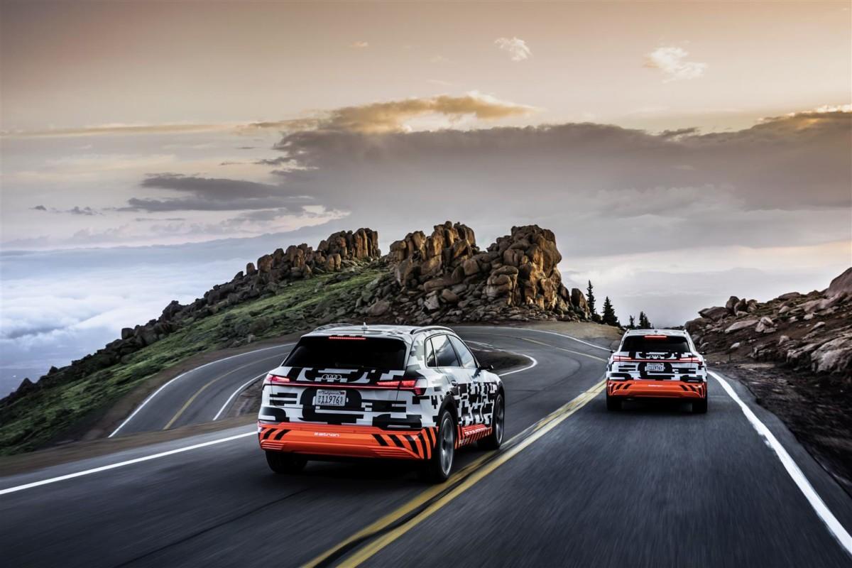 Il sistema di recupero energia di Audi e-tron Prototipo